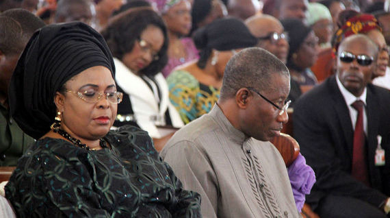 Patience and Jonathan Goodluck