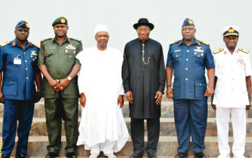 President, Service Chiefs
