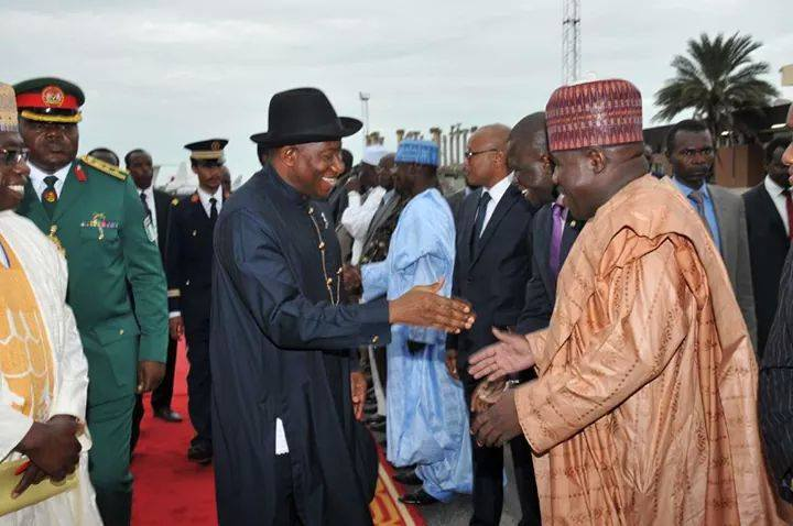 Janjaweed Connection: President Jonathan embraces Borno ex governor implicated as Boko Haram sponsor