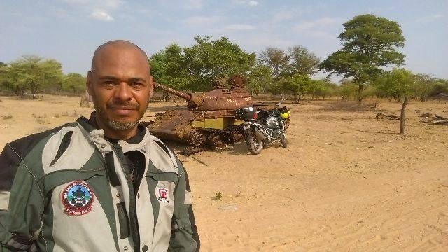 Namibia-Angola border crossing