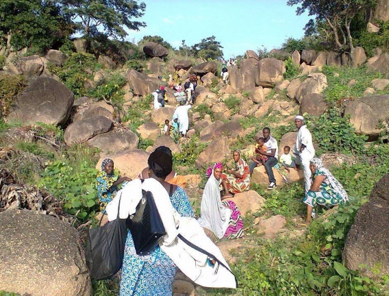 Nigerians flee Boko Haram territory