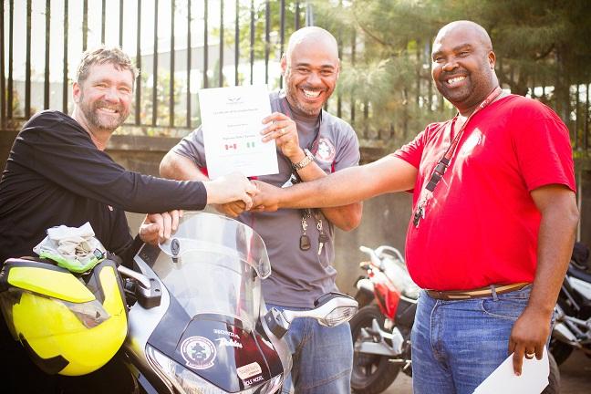 Kanu gets his certificate copy