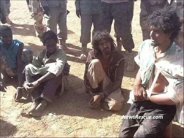 French Chadian fighters for Boko Haram caught in  Damaturu, Nigeria