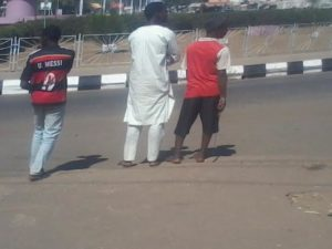 Nigerians defending Mosques in Kano Friday