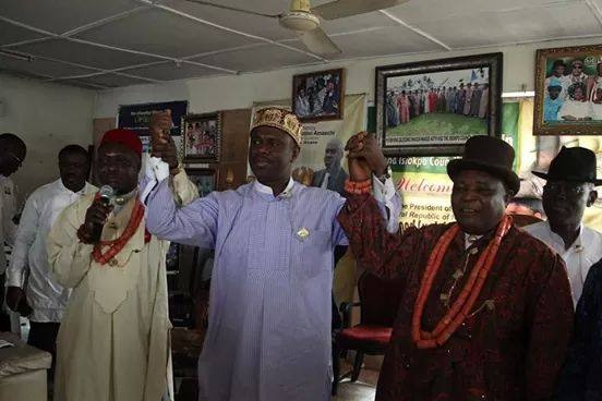 ROYALTY AND DAP 05 THE SUPREME COUNCIL OF IKWERRE KINGS ANNOINTS DR PETTERSIDE