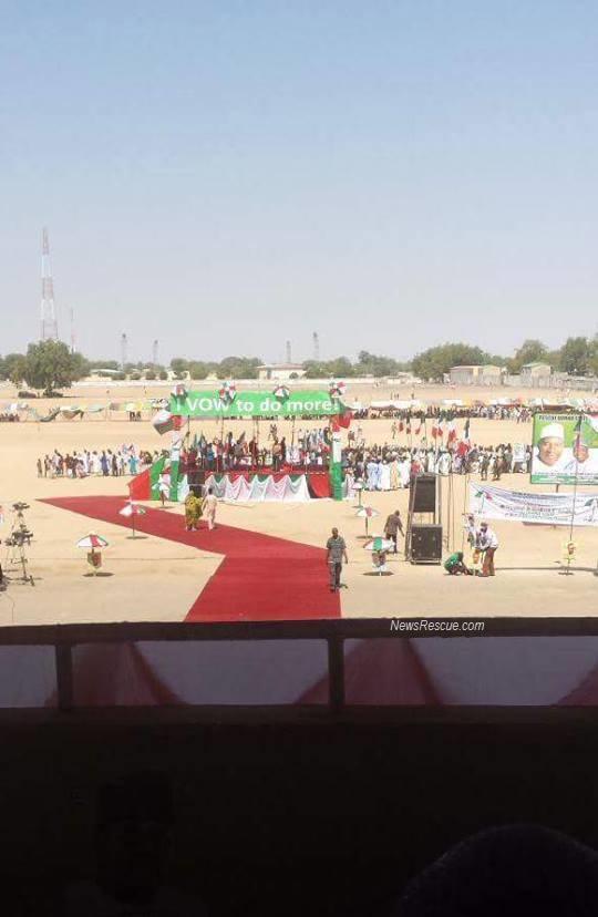 Borno PDP rally