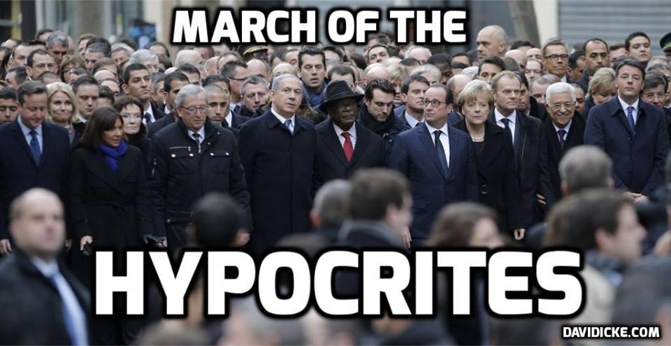 march of hypocrites