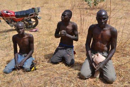boko haram insurgents captured by nigerian military