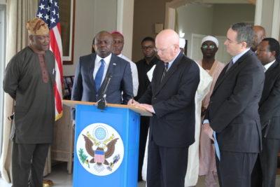 Lagos Guber Peace Accord Photo