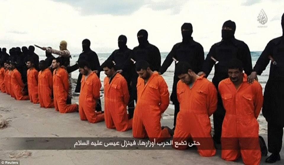 beheaded coptic