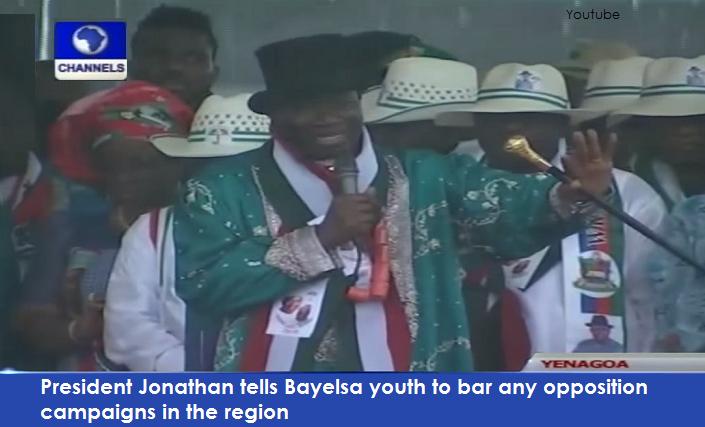Jonathan booed in Bayelsa