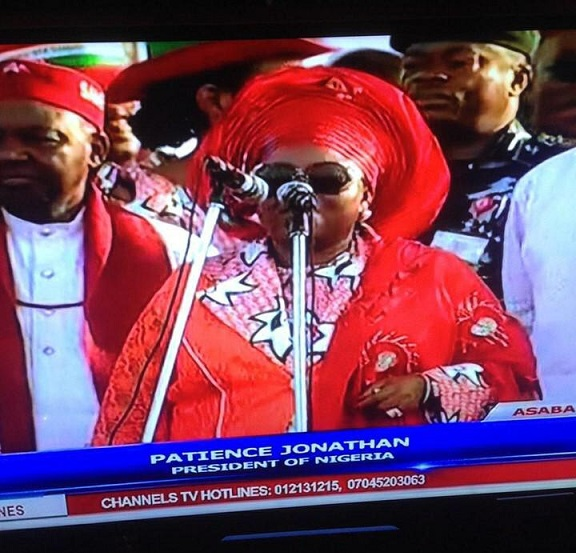 Patience Jonathan investigated by ICC
