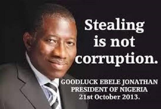 stealing corruption