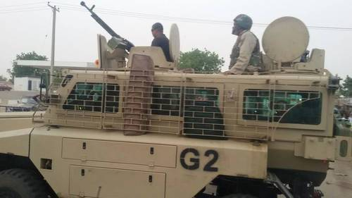 Foreign mercenaries spotted in Nigeria; img- FaceBook