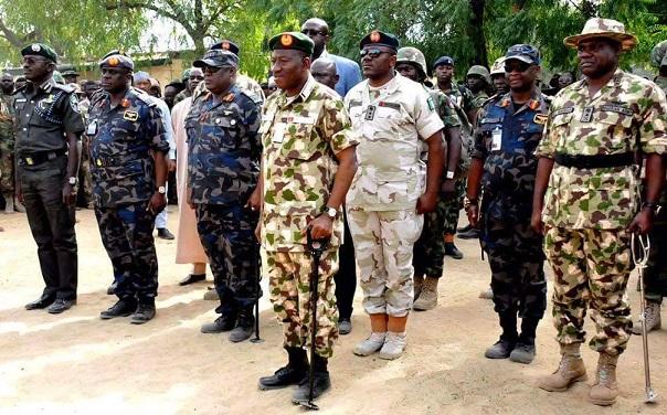 President Jonathan visits Baga