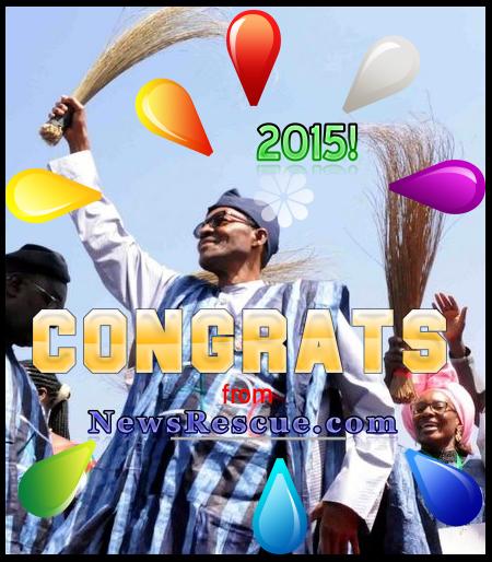 congrats to buhari