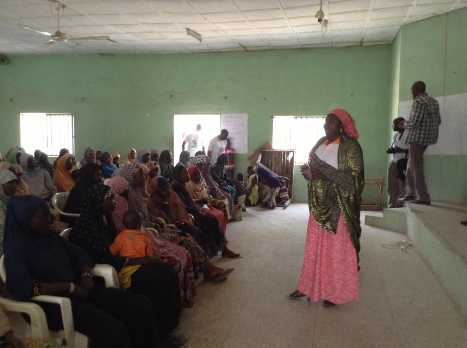 Citizens United for Peace and Security, CUPS visit and donate to IDPs