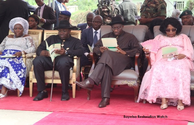 Bayelsa first family and Nigerian First family