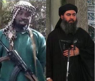 Shekau and ISIS' Abu Baghdadi - extremist Sunni Takfiri