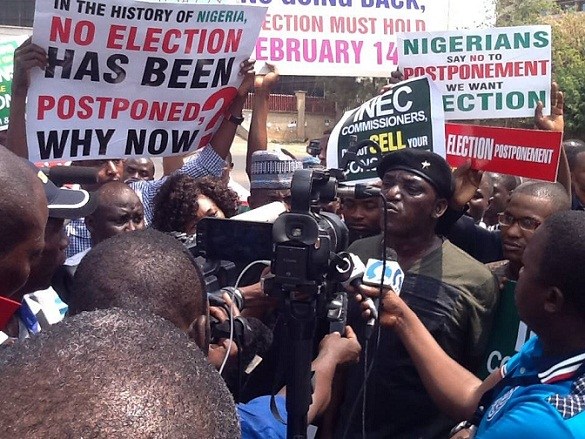 IG Wala protests election postponement in Abuja February