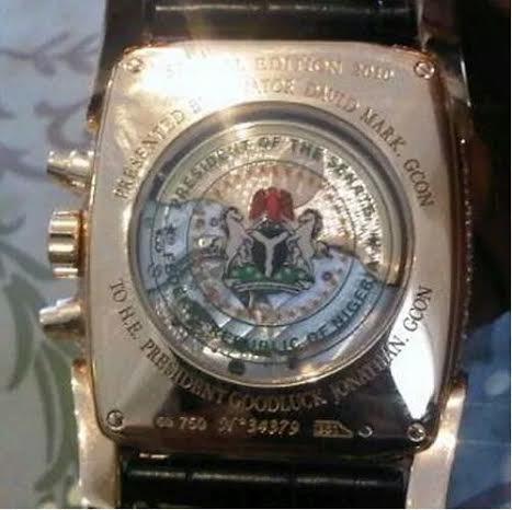 Million dollar wrist watch David Mark used to bribe Jonathan