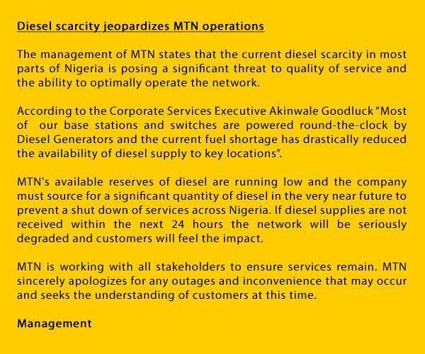 shut down nigerias