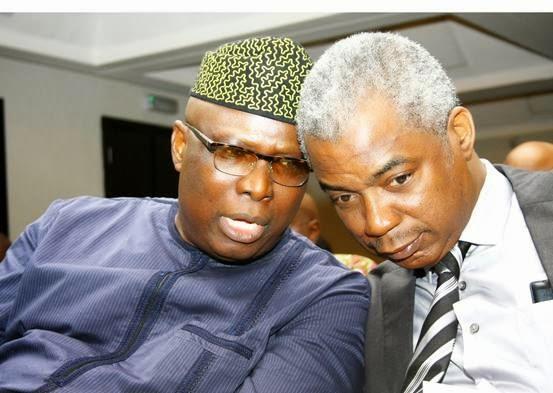 Senator Babafemi Ojudu and Dr Tunji Olowolafe