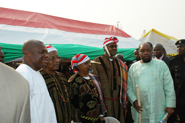 Ojukwu BuhariNgige Babangida Oji Kalu at Igbere Ezumezu 2005: Igbere