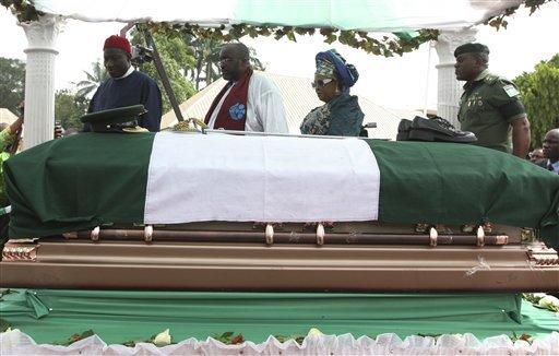 General Ojukwu was buried in Nnewi in March of 2012 mjemagazine.com