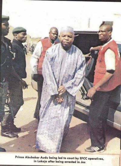 Governor Audu arrested on 80-count charges died suddenly the day afte elections