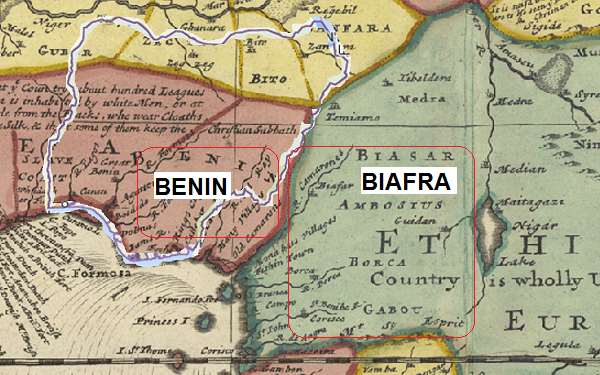 Cameroon was once known as Biafra
