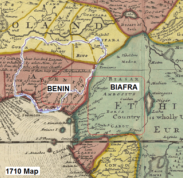 Old Maps Show Biafra Was Actually In Cameroon And Never Part Of ...