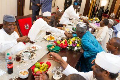 buhari dinner