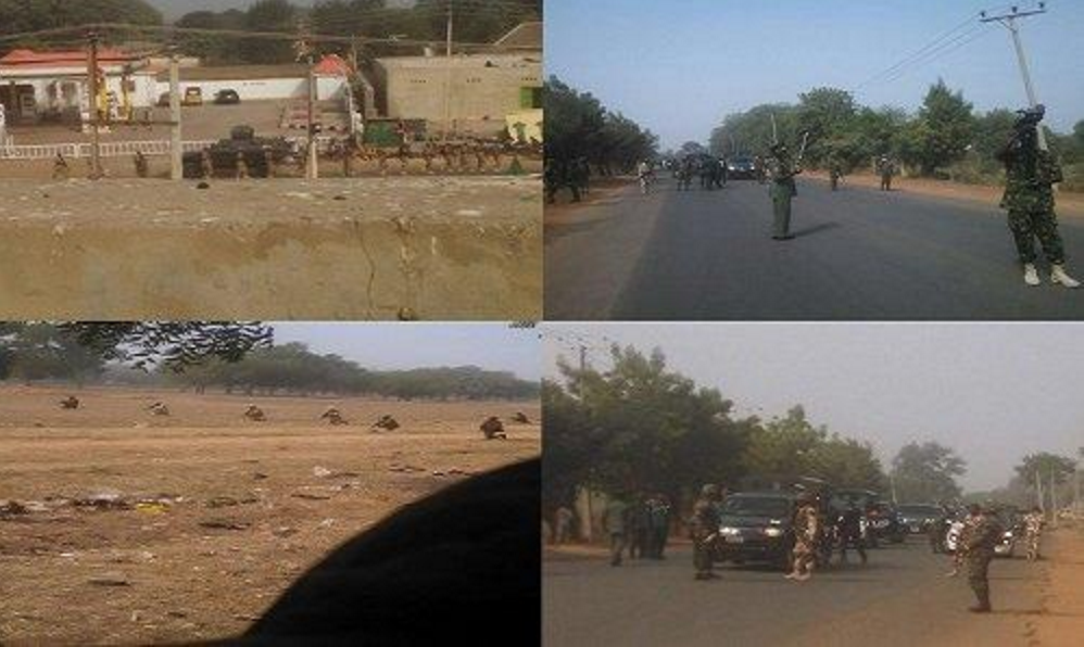 Army attack on Islamic Movement