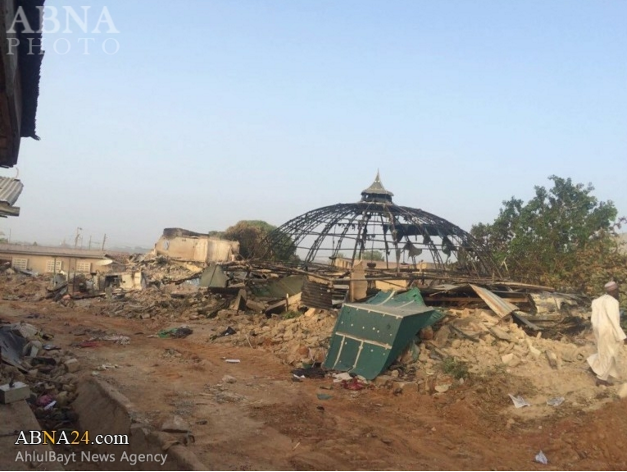 Zakzaky demolished house