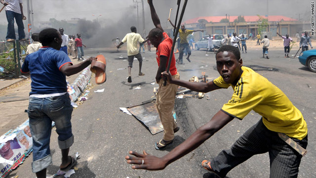 Northern riots when Buhari lost the elections in 2011 killed 800: Frequent deadly northern riots against minorities, Christians, Igbos etc.