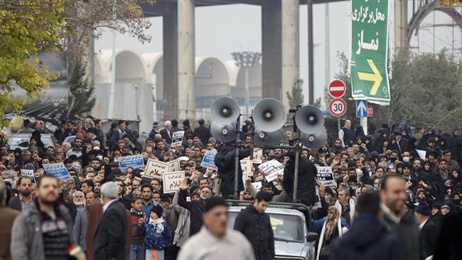 iranian protest music Hundreds of demonstrators shouted anti-american chants at rallies in tehran  and other iranian cities on friday, protesting against us.