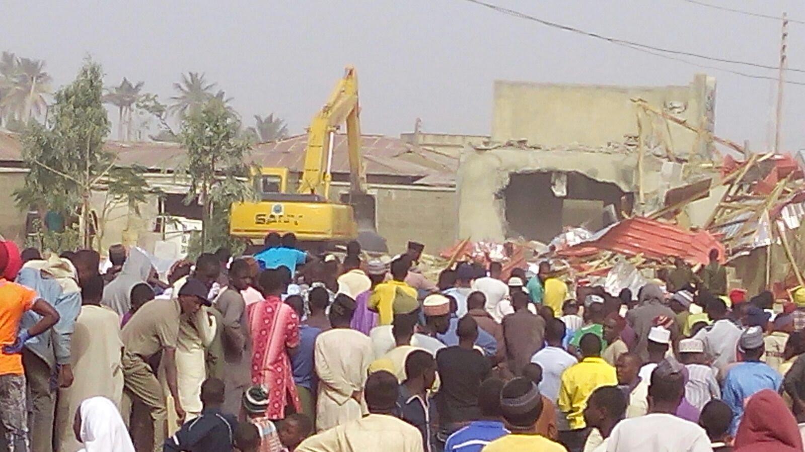 Kaduna demolishes Zakzaky mother's home/grave