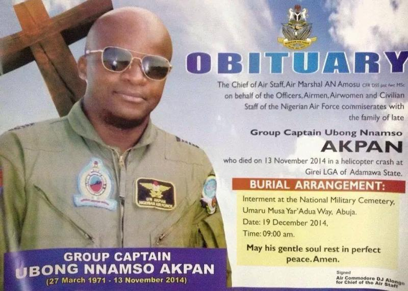 group captain obong