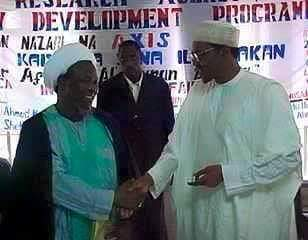 Zakzaky and Buhari