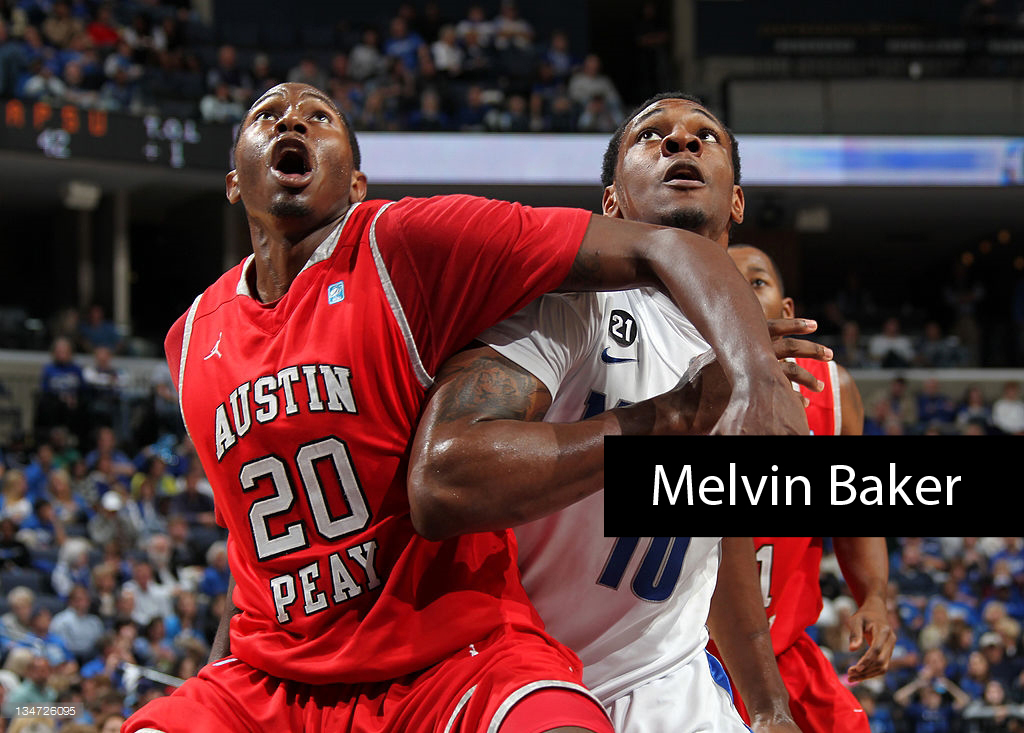 MEMPHIS, TN - DECEMBER 3: of the Memphis Tigers against of the Austin Peay Governors on December 3, 2011 at FedExForum in Memphis, Tennessee.(Photo by Joe Murphy/Getty Images) *** Local Caption ***