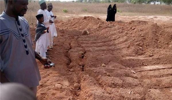 Mass graves discovered in Kaduna after massacre