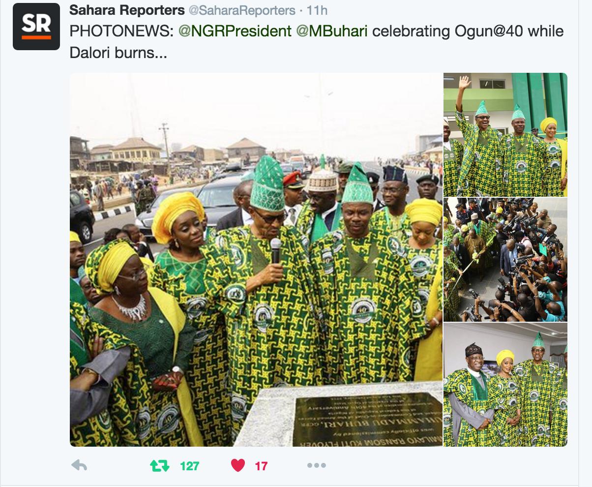 Buhari party ogun