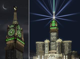 kaaba clock