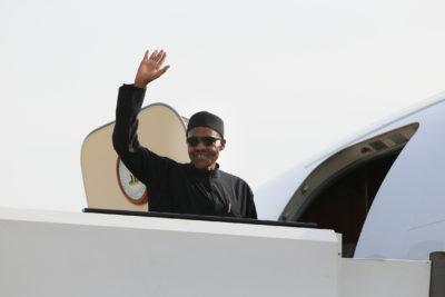 Buhari-in-plane