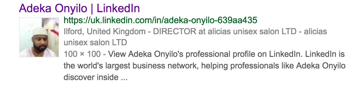 adeka oyinlo google