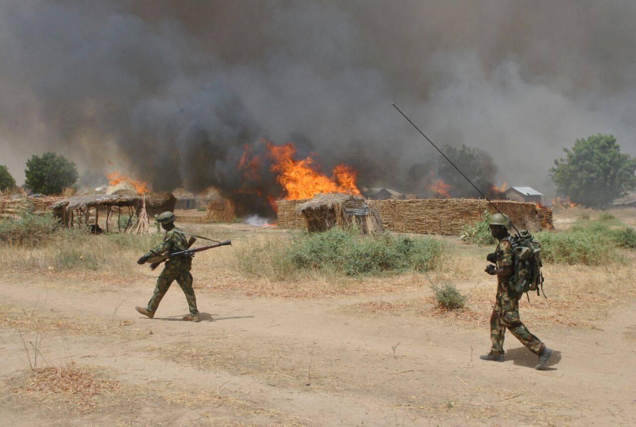 boko troops