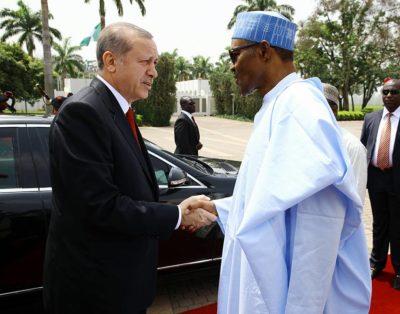 Update image: Buhari hosts Erdogan, Tuesday March 2nd 2016
