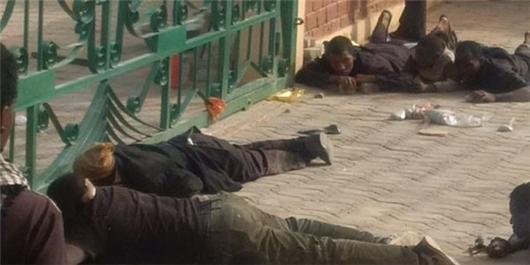 Nigerians hiding before Buratai killed them