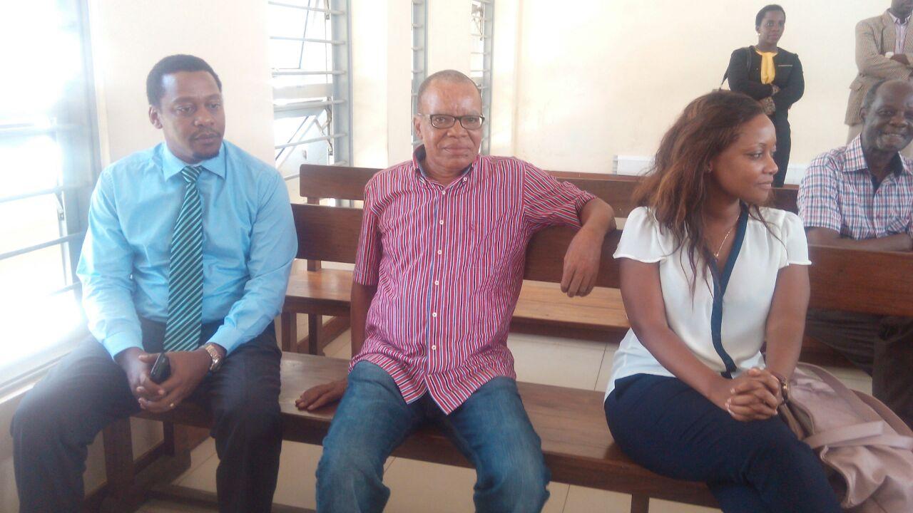 Harry Kitilya in court on April 1st 2016